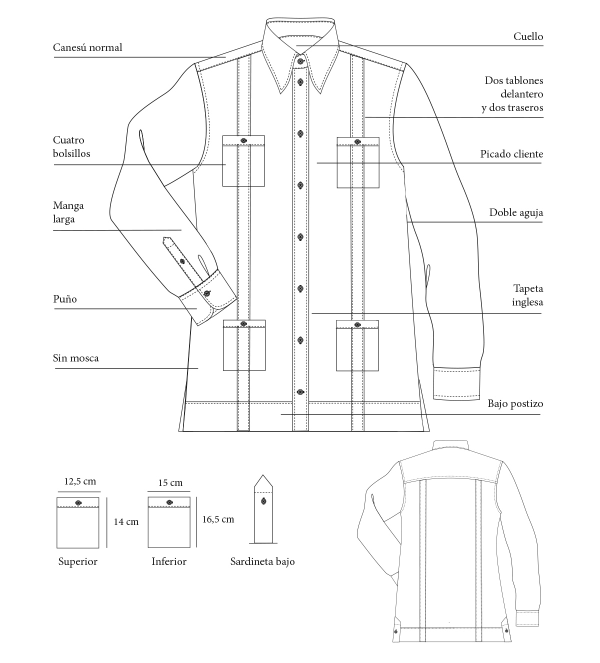 Camisa habanera / Guayabera
